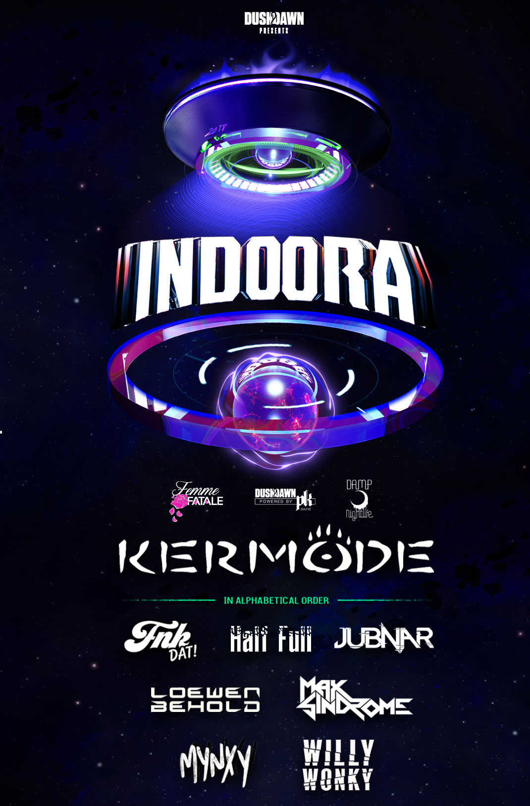 Dusk2Dawn & Damp Nightlife pres: Indoora (The Ilfora Makeup Party)